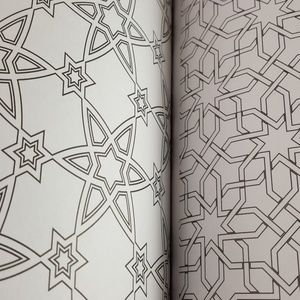 NEW Dazzling Patterns Coloring Book Gift S…